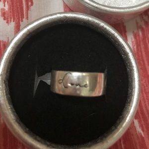 STERLING SILVER RING/stamped 925